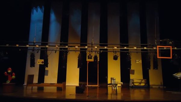 Montaje en el Teatro México 2014