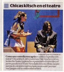 El Comercio, 26 de septiembre 2011