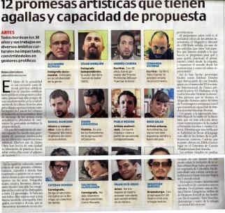 El Comercio, diciembre 2013