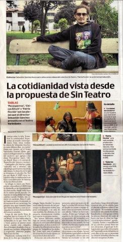 El Comercio, 25 de febrero 2013