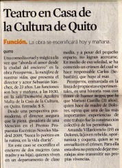 El Universo, 2 de octubre 2009.