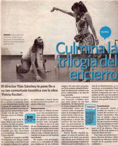La Hora, 20 de febrero 2011