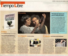 Revista Líderes 28 de septiembre 2009.