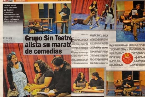 El Telégrafo, 18 de febrero 2011