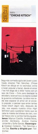 Revista Desde el Teatro FTNS, febrero 2011