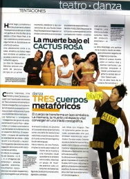 Revista Vanguardia, febrero 2010.