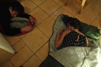 En la fotografía Cesar Santos y Carla Michelena.