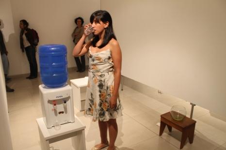Indira Reinoso en su intervención en Mar