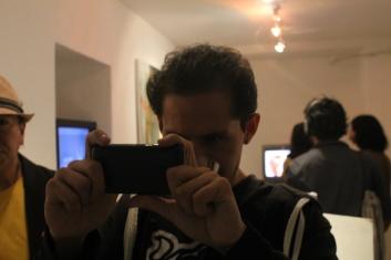 Tián Sánchez mirando la acción