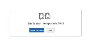 Sin Teatro temporada 2015