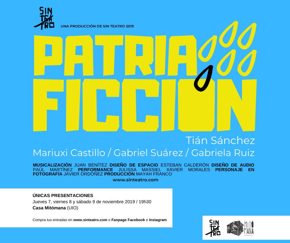 PATRIA FICCIÓN facebook